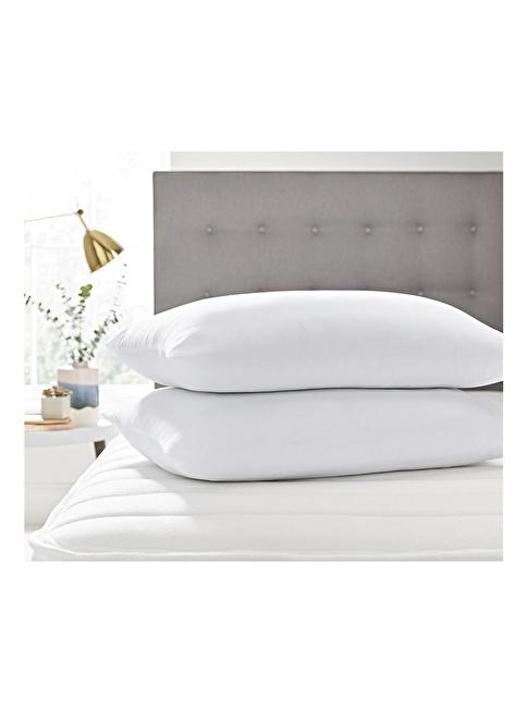Alla Turca 2'li Silikon Lux  Yastık Beyaz